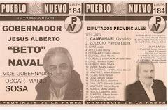 Boleta a Gobernador y Diputados Provinciales 2003