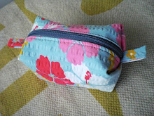 Another Boxy Pouch with outside pleat Tutorial