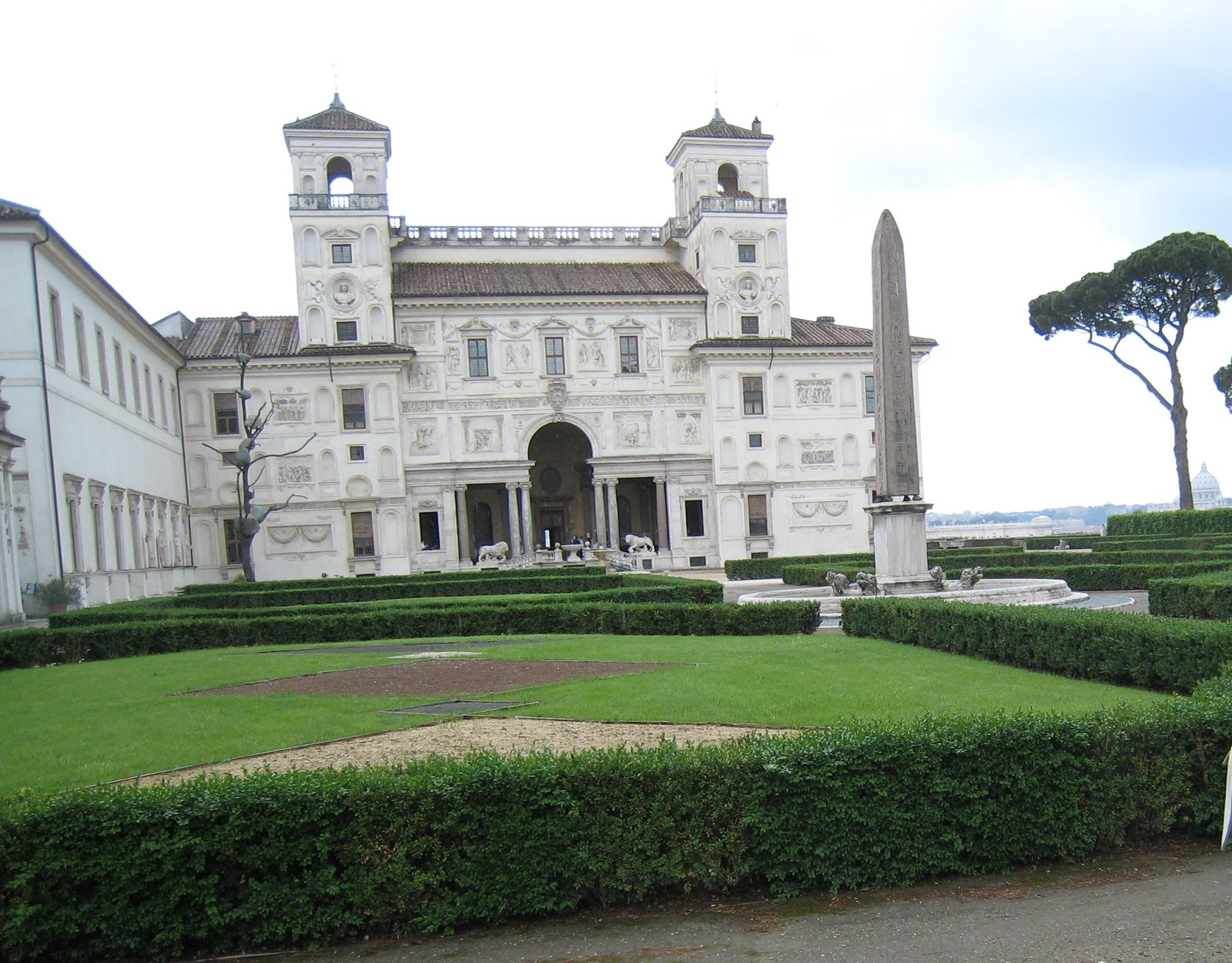 Rome the second time rst top 40 14 villa medici - Villa medicis rome chambres ...