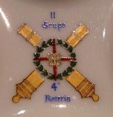 Escudo de la 4ª Bia-IIº Gº.