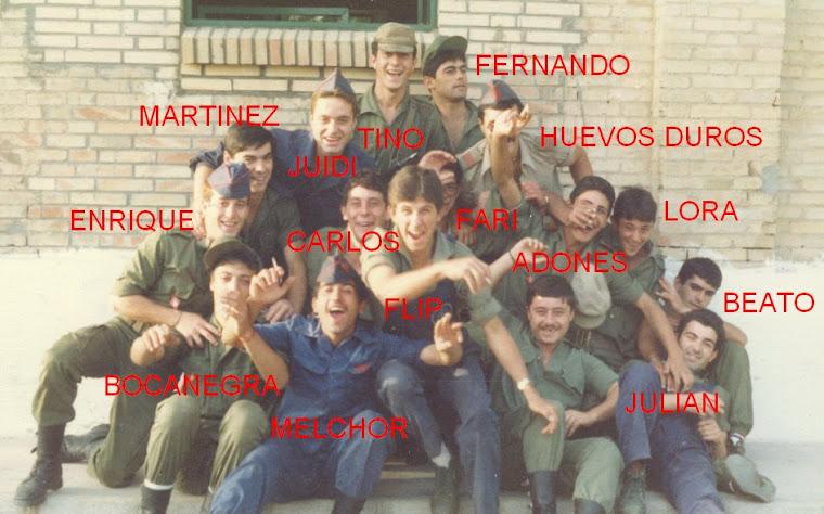 BATERIA DE SERVICIOS 2º Gº.AÑOS 82-83.