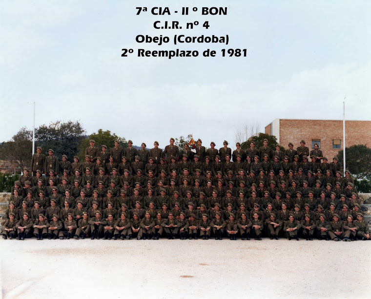 C.I.R nº 4 OBEJO (CORDOBA) 7ª Compañia IIº Batallon.