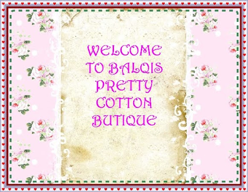 Balqis Pretty Cotton Butique