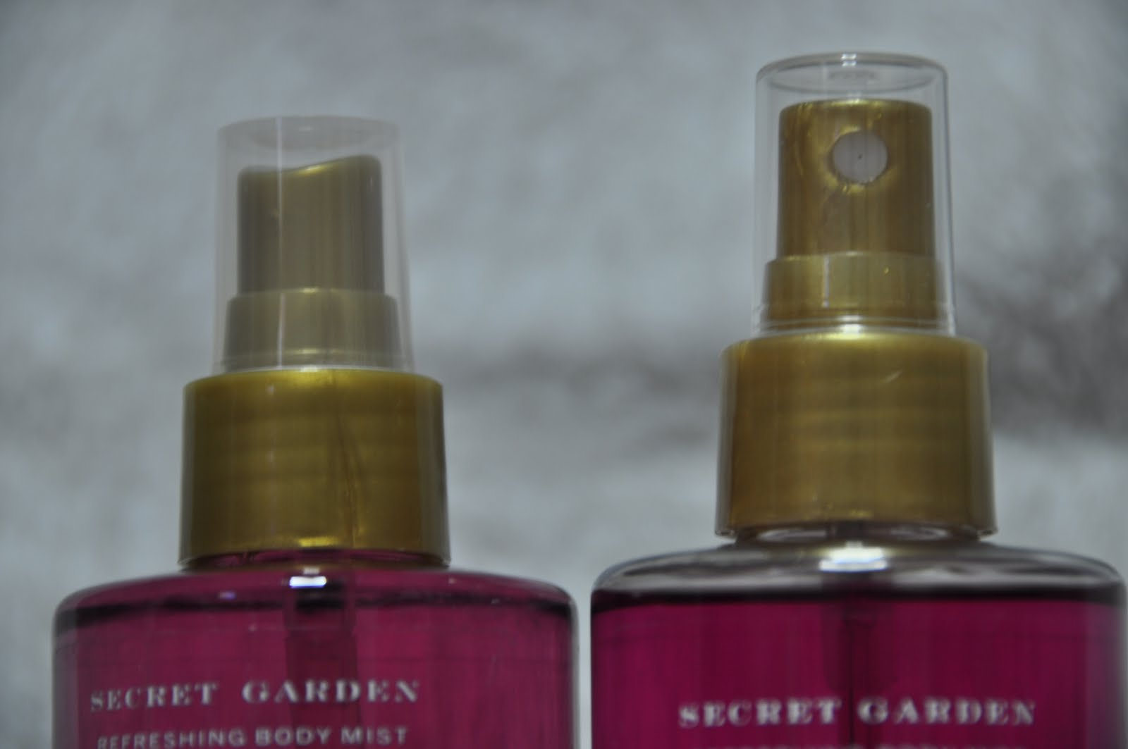 originals vs fakes: victoria's secret garden body mist ...