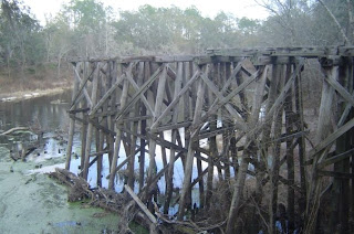 Withlacoochee River trestle
