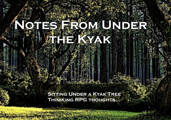 Notes From Under the Kyak