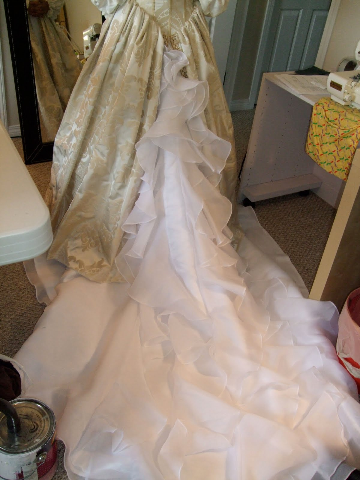 The Funky Seamstress Amys Renaissance Wedding Dress
