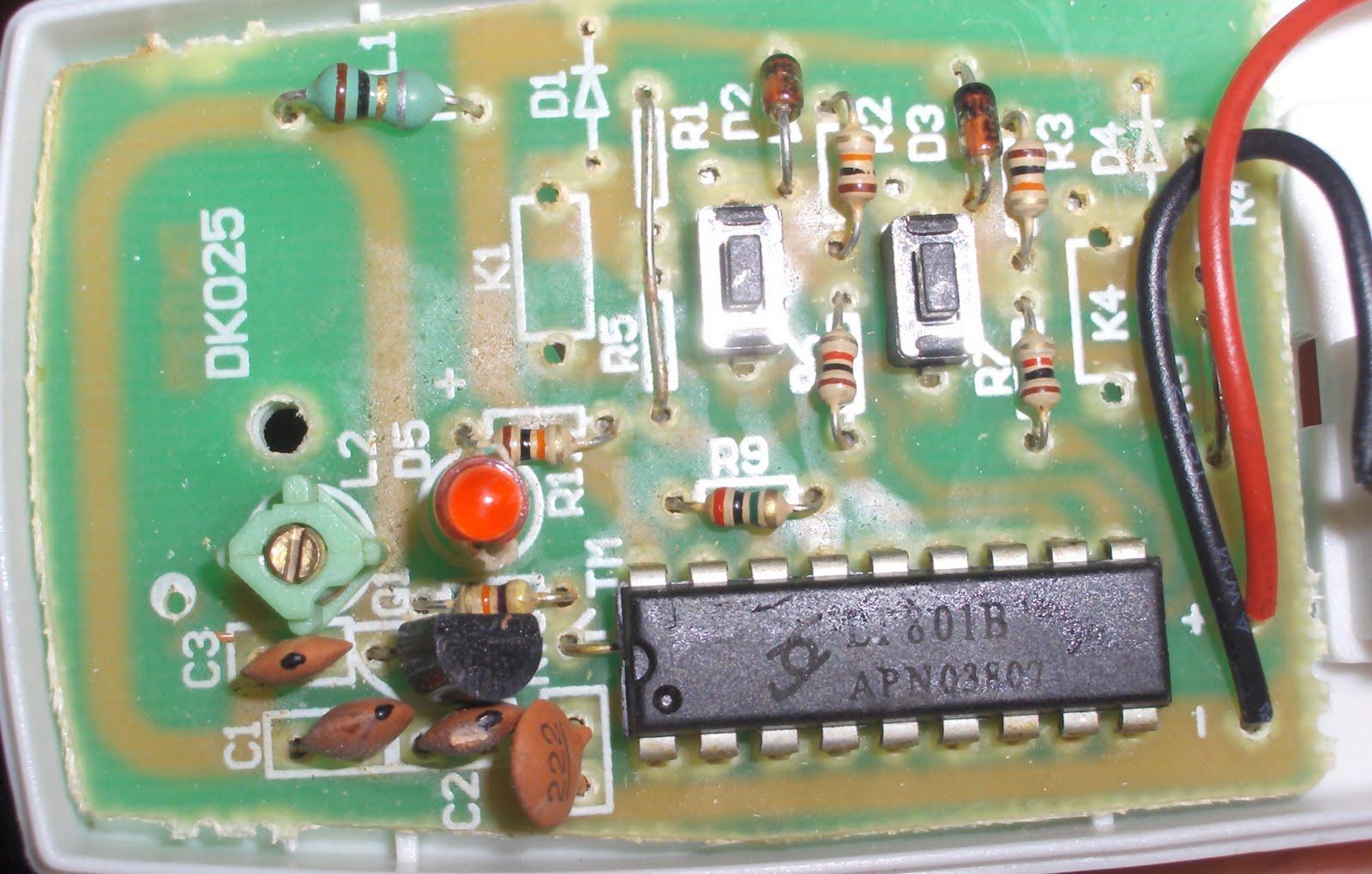 Karosium Rf Remote Control Emulation Switch Circuit