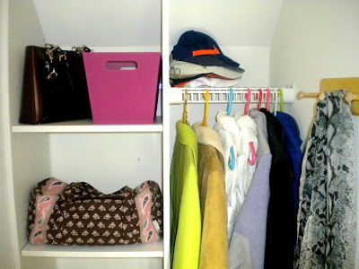 Home Renovation: Coat Closet - Bright Bold and Beautiful Blog