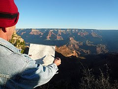 drawing the grand canyon