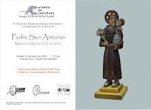 """Exposición: """"Padre San Antonio, Memoria religiosa de Cabudare"""""""