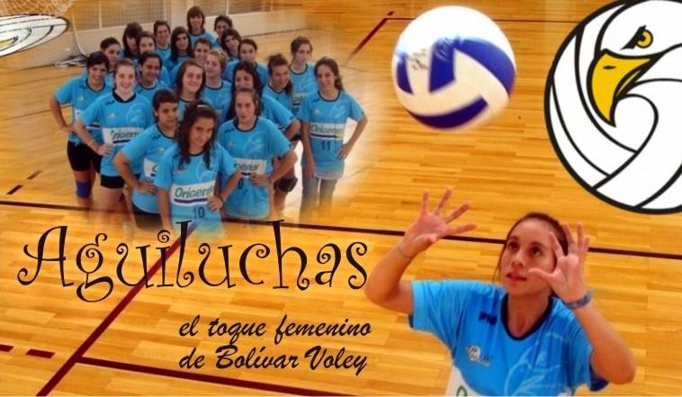 Las Aguiluchas - las chicas de Bolívar Voley