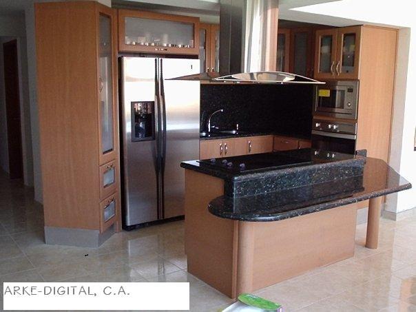 Las cocinas que hemos construido calor de hogar for Barras de cocina de concreto