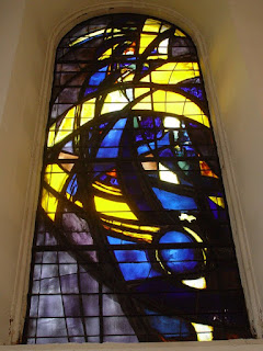 Derby Cathedral stained glass window