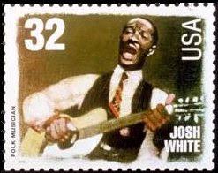 Josh White Postage Stamp