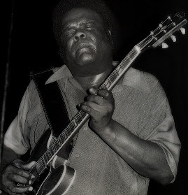 Freddie King Guitar Face