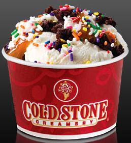 photo regarding Cold Stone Printable Coupon named Chilly Stone Creamery: Together with it Dimension Creations 2/$5.00