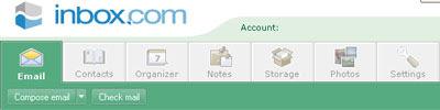 free e-mail service web application