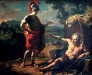 Diogenes y Alejandro Magno