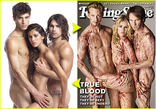 true blood rolling stone. quot;True Bloodquot; Rolling Stone