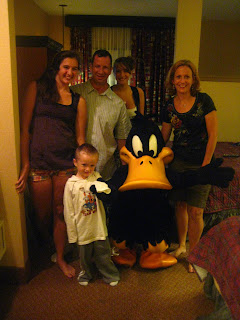 The family...and Daffy. Refrain from asking