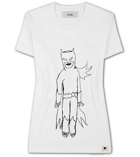 Luella Superhero t-shirt - Net-a-porter, It's fashion, dahling!