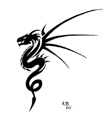 Dragon Tattoo on Dragon Tattoo
