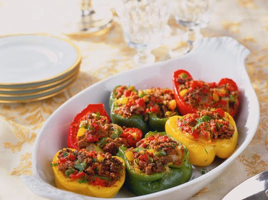 peanuts mama s stuffed bell peppers bolognese stuffed bell peppers ...