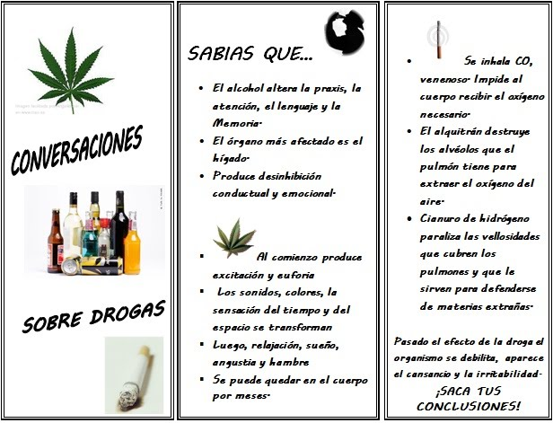 Conversaciones sobre Drogas