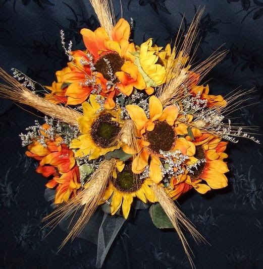 Cygnus Wedding Crafts Sunflower Bouquet For Your Fall