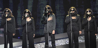 Jesus backing singers