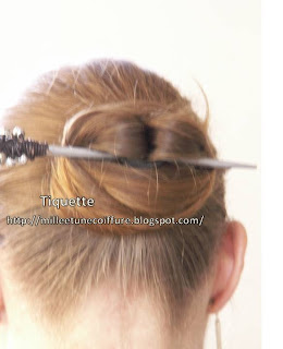 1001 coiffures: chignon chinois