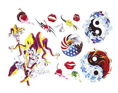 Free tattoo flash designs 4