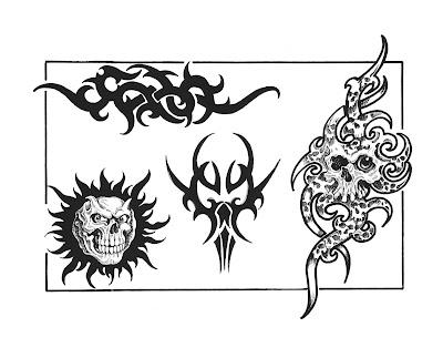 Free tribal tattoo designs 104 · Free