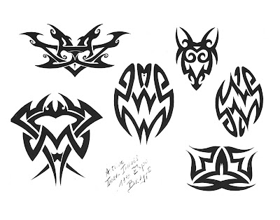 Best Tribal Phoenix Tattoos Free tribal tattoo designs 104
