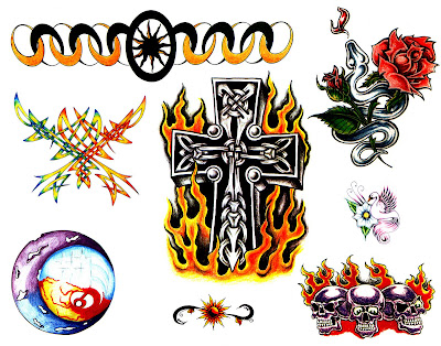 law enforcement tattoo designs four elements tattoo cross designs