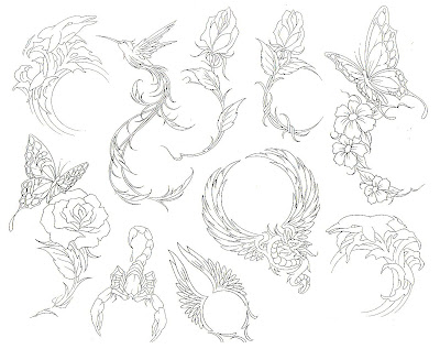 Free tattoo flash designs 66