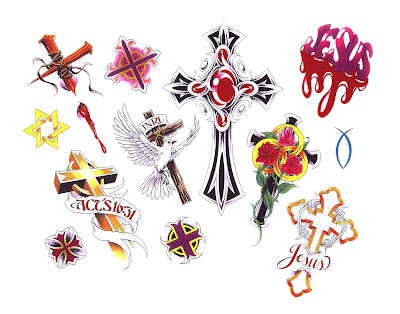 Free Cross Tattoo Designs