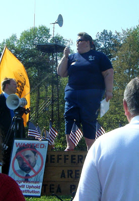 Carol Thorpe, President Jefferson Area Tea Party