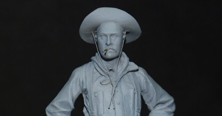 The bench by anders heintz 54mm cowboy andrea miniatures for Andreas heintz