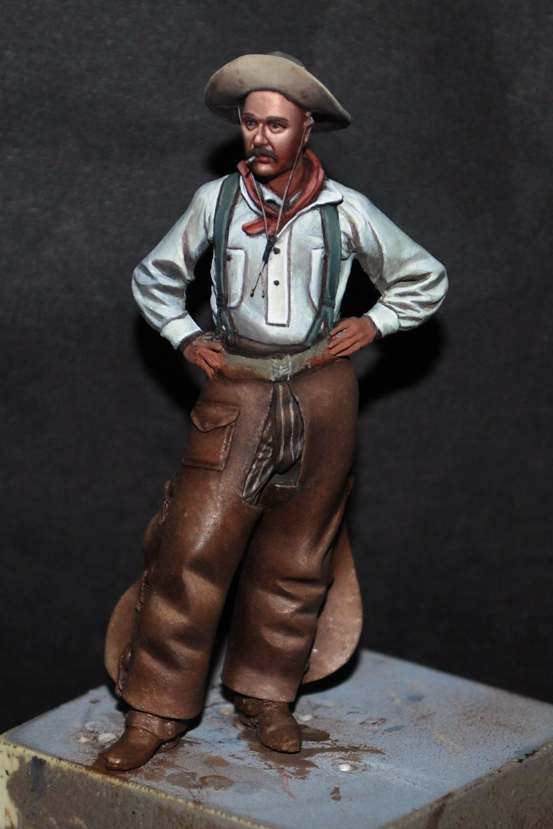 The bench by anders heintz 54mm cowboy update for Andreas heintz
