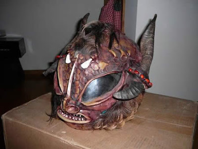 Monster Helmet