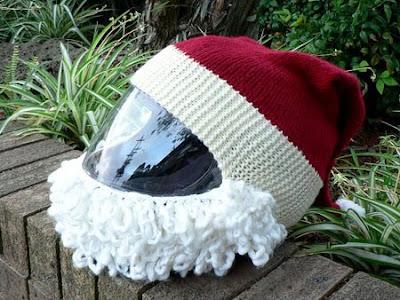 Santa Helmet