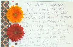 To John Lennon