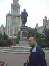 En la Universidad de Moscu