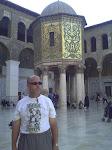 En la mezquita de los Omeyas