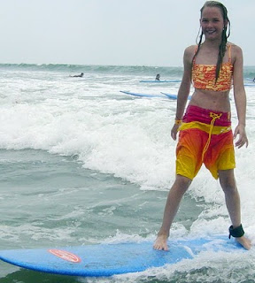 Kids and teens can learn to surf at Aloha Beach Camp summer camp in Malibu.