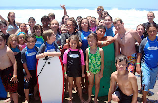 Aloha Beach Camp Summer Camp kids soak up the sun in Malibu. If you're looking for a safe and fun summer camp in Los Angeles, consider Aloha Beach Camp this year.