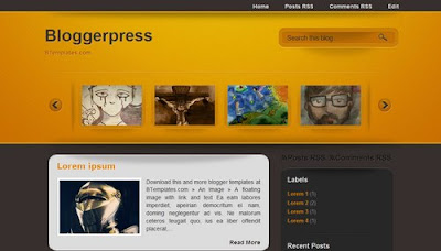 Bloggerpress Blogger Template