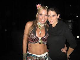 Con Ericka Zayas Bazan